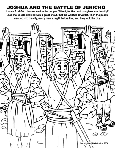 Joshua Jericho Coloring Pages http://theclipartwizard.com/joshua-coloring-pages.htm